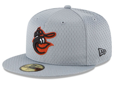 Baltimore Orioles New Era MLB Batting Practice Mesh 59FIFTY Cap