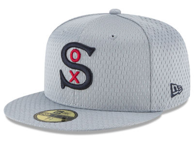 Chicago White Sox New Era MLB Batting Practice Mesh 59FIFTY Cap