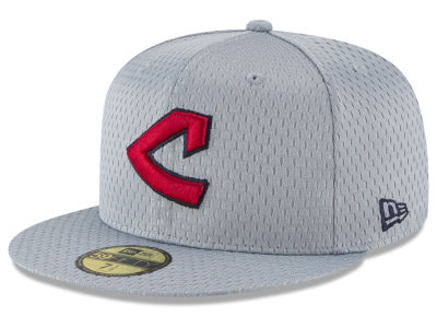 Cleveland Indians New Era MLB Batting Practice Mesh 59FIFTY Cap