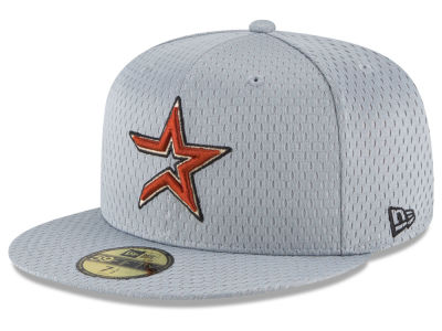 Houston Astros New Era MLB Batting Practice Mesh 59FIFTY Cap