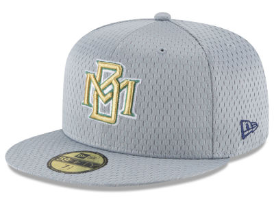 Milwaukee Brewers New Era MLB Batting Practice Mesh 59FIFTY Cap