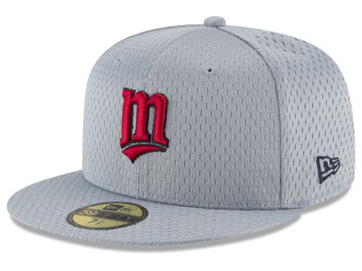 Minnesota Twins New Era MLB Batting Practice Mesh 59FIFTY Cap