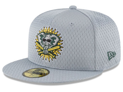 Oakland Athletics New Era MLB Batting Practice Mesh 59FIFTY Cap