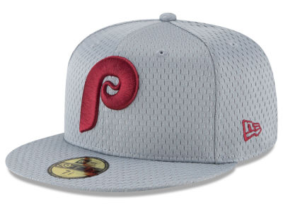 Philadelphia Phillies New Era MLB Batting Practice Mesh 59FIFTY Cap