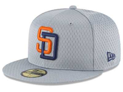San Diego Padres New Era MLB Batting Practice Mesh 59FIFTY Cap