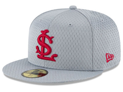 St. Louis Cardinals New Era MLB Batting Practice Mesh 59FIFTY Cap