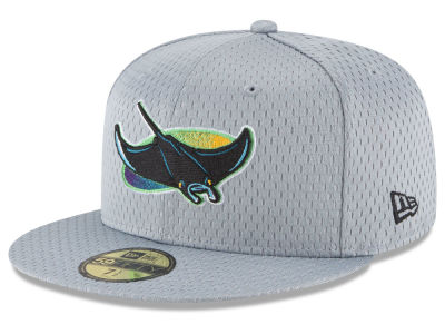 Tampa Bay Rays New Era MLB Batting Practice Mesh 59FIFTY Cap
