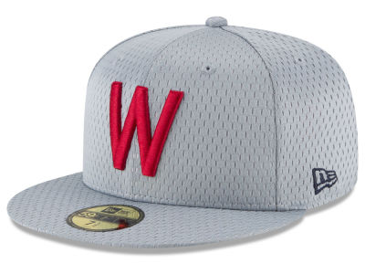 Washington Nationals New Era MLB Batting Practice Mesh 59FIFTY Cap