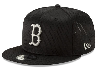 Boston Red Sox New Era MLB Batting Practice Mesh 9FIFTY Snapback Cap