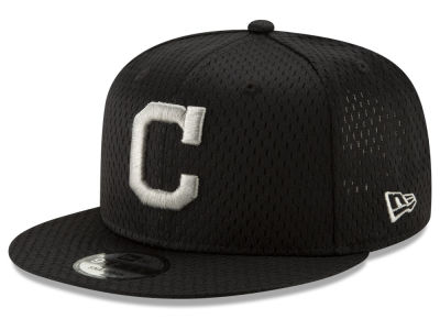 Cleveland Indians New Era MLB Batting Practice Mesh 9FIFTY Snapback Cap