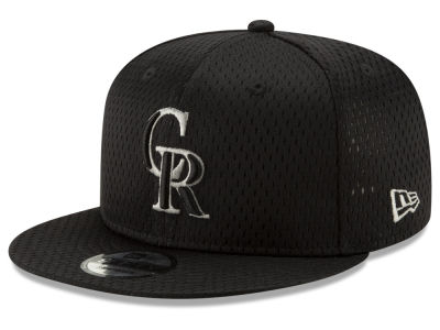 Colorado Rockies New Era MLB Batting Practice Mesh 9FIFTY Snapback Cap