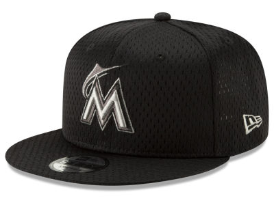 Miami Marlins New Era MLB Batting Practice Mesh 9FIFTY Snapback Cap