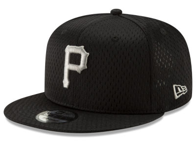 Pittsburgh Pirates New Era MLB Batting Practice Mesh 9FIFTY Snapback Cap