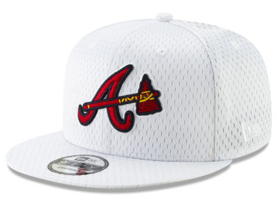 Atlanta Braves New Era MLB Batting Practice Mesh 9FIFTY Snapback Cap