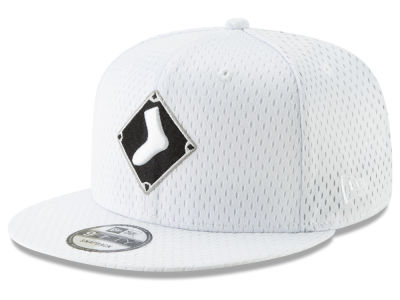 Chicago White Sox New Era MLB Batting Practice Mesh 9FIFTY Snapback Cap