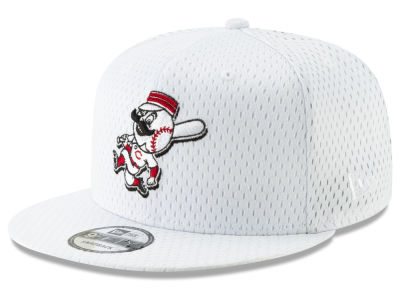 067f43d0b30 ... where can i buy cincinnati reds new era mlb batting practice mesh  9fifty snapback cap 7e36f