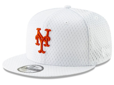 New York Mets New Era MLB Batting Practice Mesh 9FIFTY Snapback Cap