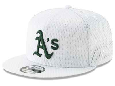 Oakland Athletics New Era MLB Batting Practice Mesh 9FIFTY Snapback Cap