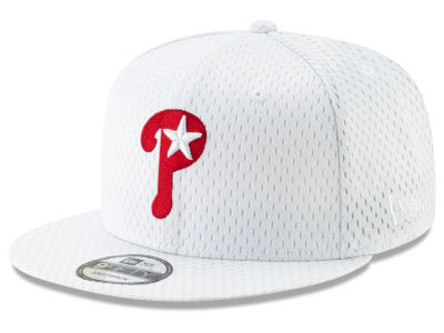 Philadelphia Phillies New Era MLB Batting Practice Mesh 9FIFTY Snapback Cap