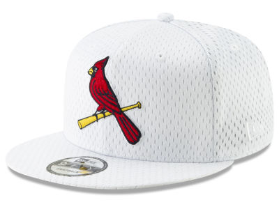 St. Louis Cardinals New Era MLB Batting Practice Mesh 9FIFTY Snapback Cap