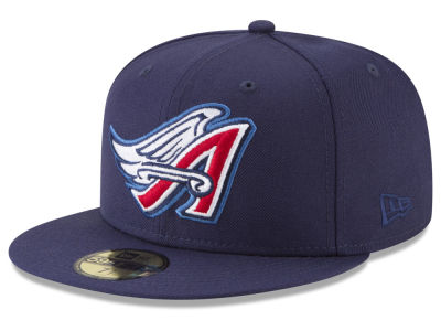 Los Angeles Angels New Era MLB Batting Practice Wool Flip 59FIFTY Cap
