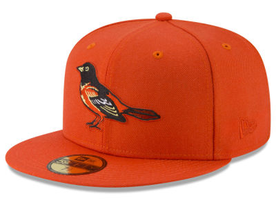 Baltimore Orioles New Era MLB Batting Practice Wool Flip 59FIFTY Cap