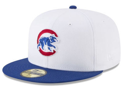 Chicago Cubs New Era MLB Batting Practice Wool Flip 59FIFTY Cap