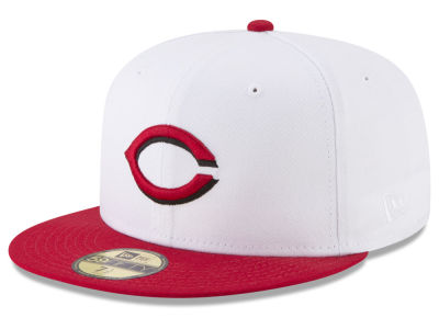Cincinnati Reds New Era MLB Batting Practice Wool Flip 59FIFTY Cap