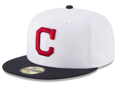 Cleveland Indians New Era MLB Batting Practice Wool Flip 59FIFTY Cap
