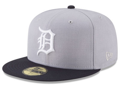 Detroit Tigers New Era MLB Batting Practice Wool Flip 59FIFTY Cap