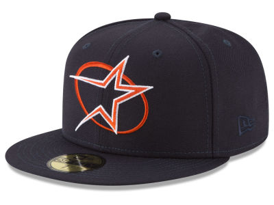 Houston Astros New Era MLB Batting Practice Wool Flip 59FIFTY Cap