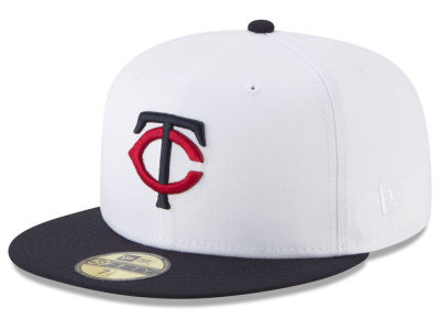 Minnesota Twins New Era MLB Batting Practice Wool Flip 59FIFTY Cap