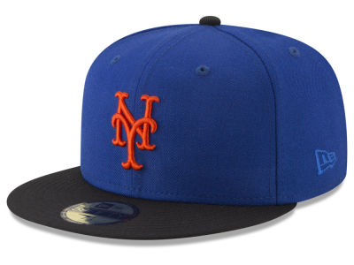 New York Mets New Era MLB Batting Practice Wool Flip 59FIFTY Cap