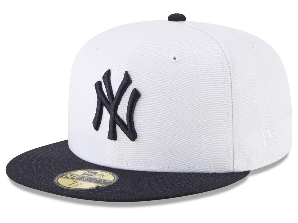 7f7fccd721b New York Yankees New Era MLB Batting Practice Wool Flip 59FIFTY Cap ...