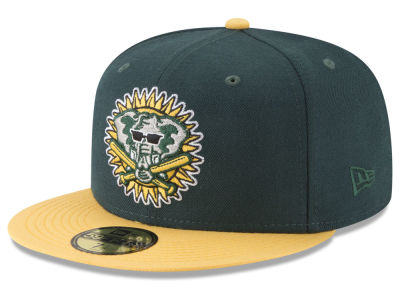 Oakland Athletics New Era MLB Batting Practice Wool Flip 59FIFTY Cap