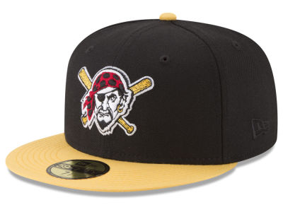 Pittsburgh Pirates New Era MLB Batting Practice Wool Flip 59FIFTY Cap