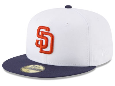San Diego Padres New Era MLB Batting Practice Wool Flip 59FIFTY Cap
