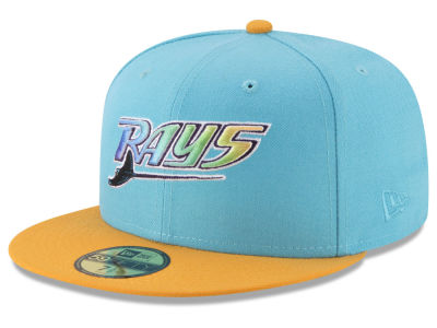 Tampa Bay Rays New Era MLB Batting Practice Wool Flip 59FIFTY Cap