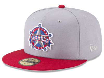 Texas Rangers New Era MLB Batting Practice Wool Flip 59FIFTY Cap