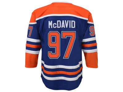 Edmonton Oilers Connor McDavid NHL Branded NHL Youth Premier 40th Heritage Player Jersey