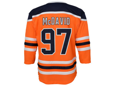 Edmonton Oilers Connor McDavid NHL Branded NHL Kids Premier Player 3rd Jersey