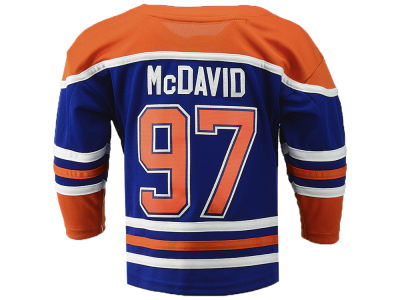 Edmonton Oilers Connor McDavid NHL Branded NHL Toddler Premier Player 3rd Jersey