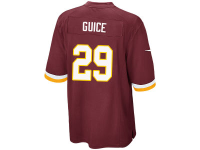 Washington Redskins Derrius Guice NFL Men's Draft Game Jersey