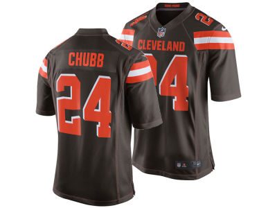 Cleveland Browns Nick Chubb NFL Men's Draft Game Jersey