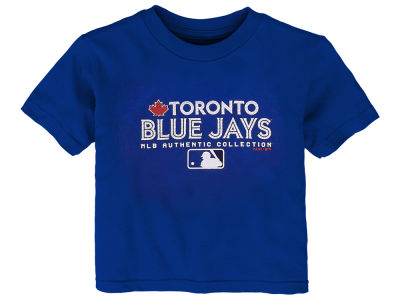 Toronto Blue Jays Majestic MLB Toddler Team Drive T-Shirt