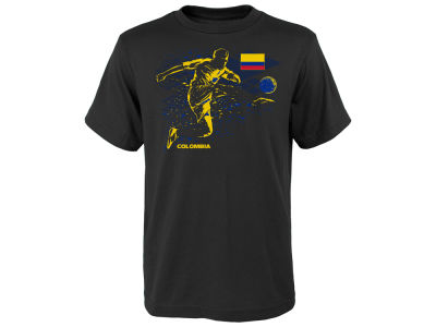 Colombia Outerstuff Youth National Team Tie Breaker T-Shirt