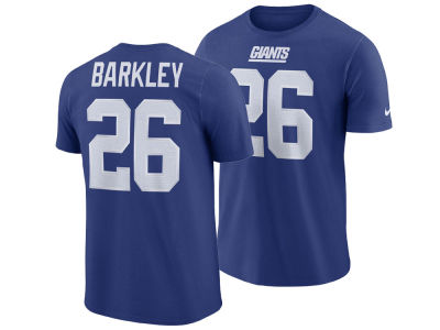 New York Giants Saquon Barkley Nike NFL Men s Pride Name and Number  Wordmark T-shirt 609cce19a