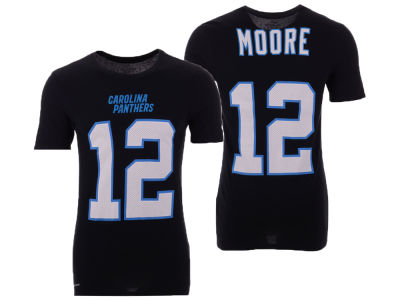 c77fb8617 Carolina Panthers D.J. Moore Nike NFL Men s Pride Name and Number Wordmark T -shirt