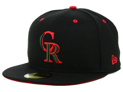 Colorado Rockies New Era MLB Italian 59FIFTY Cap