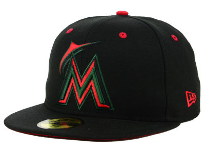 Miami Marlins New Era MLB Italian 59FIFTY Cap